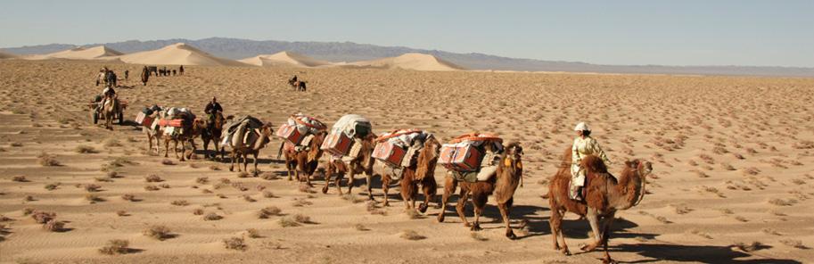 Mit der Karawane durch die Mongolei